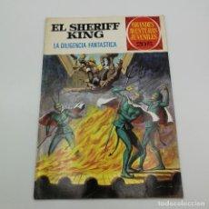 BDs: BRUGUERA EL SHERIFF KING Nº 64, 1ª EDICIÓN. GRANDES AVENTURAS JUVENILES. Lote 225451890