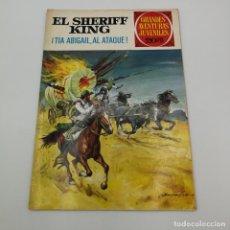 BDs: BRUGUERA EL SHERIFF KING Nº 68, 1ª EDICIÓN. GRANDES AVENTURAS JUVENILES. Lote 225451985