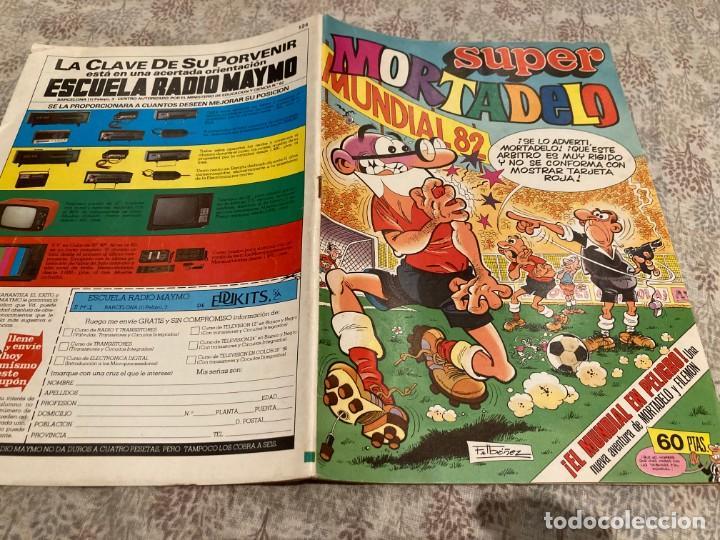 SUPER MORTADELO Nº 124. EDITORIAL BRUGUERA 1982. (Tebeos y Comics - Bruguera - Mortadelo)