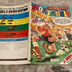 Tebeos: SUPER MORTADELO Nº 124. EDITORIAL BRUGUERA 1982.. Lote 225476428