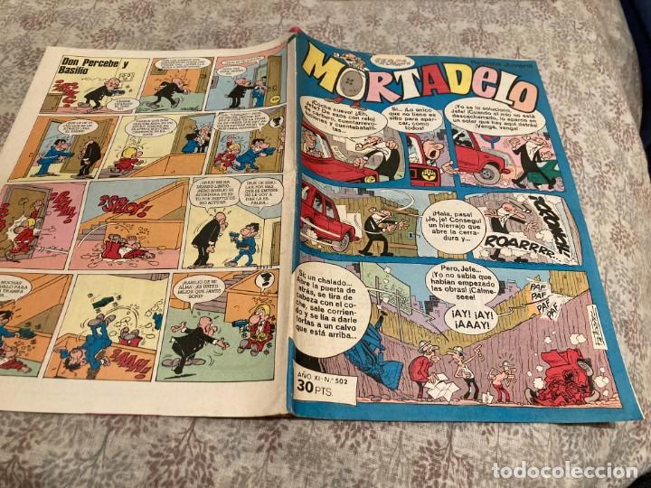 MORTADELO SEMANAL Nº 502 EDITORIAL BRUGUERA 1980 (Tebeos y Comics - Bruguera - Mortadelo)