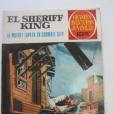 BDs: GRANDES AVENTURAS JUVENILES. EL SHERIFF KING. Nº 16 LA MUERTE ESPERABA EN CRUMBLE .BRUGUERA ARX16. Lote 225698635