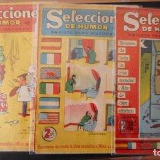 BDs: LOTE DE 3 SELECCIONES DE HUMOR DDT. Lote 225722170