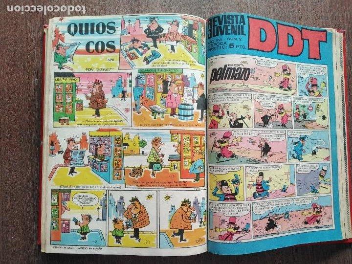 Tebeos: TOMO DDT ALMANAQUE 1959 SELECCIONES HUMOR DDT VEN Y VEN CAN CAN 40 EJEMPLARES - Foto 5 - 225757620