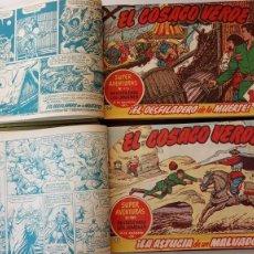 Tebeos: EL COSACO VERDE ORIGINAL 1 AL 70 - 1960 BRUGUERA, VER TODAS LAS PORTADAS. Lote 225888498