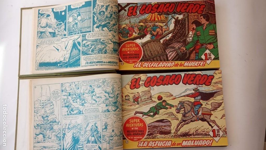 Tebeos: EL COSACO VERDE ORIGINAL 1 AL 70 - 1960 BRUGUERA, VER TODAS LAS PORTADAS - Foto 2 - 225888498