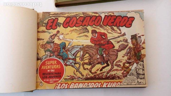 Tebeos: EL COSACO VERDE ORIGINAL 1 AL 70 - 1960 BRUGUERA, VER TODAS LAS PORTADAS - Foto 3 - 225888498