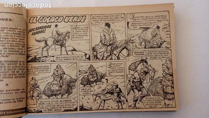 Tebeos: EL COSACO VERDE ORIGINAL 1 AL 70 - 1960 BRUGUERA, VER TODAS LAS PORTADAS - Foto 4 - 225888498