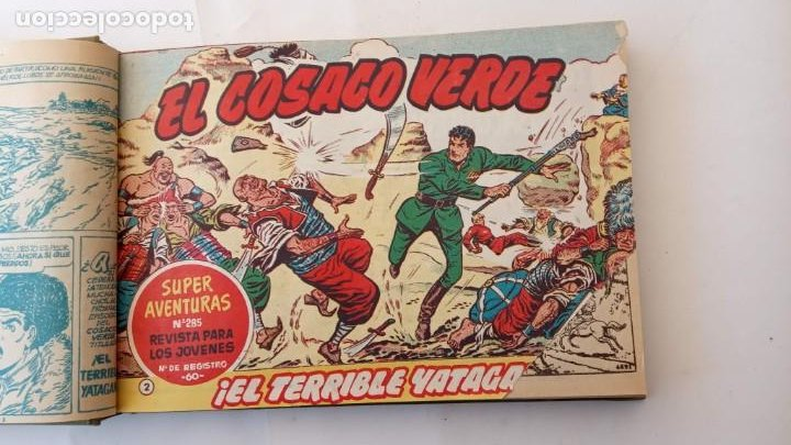 Tebeos: EL COSACO VERDE ORIGINAL 1 AL 70 - 1960 BRUGUERA, VER TODAS LAS PORTADAS - Foto 6 - 225888498