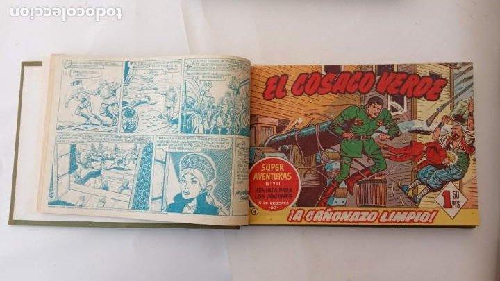 Tebeos: EL COSACO VERDE ORIGINAL 1 AL 70 - 1960 BRUGUERA, VER TODAS LAS PORTADAS - Foto 9 - 225888498