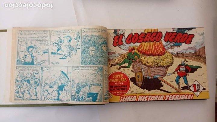 Tebeos: EL COSACO VERDE ORIGINAL 1 AL 70 - 1960 BRUGUERA, VER TODAS LAS PORTADAS - Foto 10 - 225888498