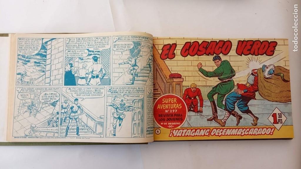Tebeos: EL COSACO VERDE ORIGINAL 1 AL 70 - 1960 BRUGUERA, VER TODAS LAS PORTADAS - Foto 12 - 225888498