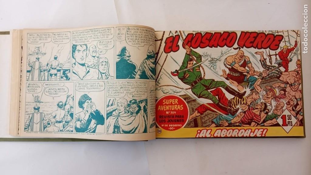 Tebeos: EL COSACO VERDE ORIGINAL 1 AL 70 - 1960 BRUGUERA, VER TODAS LAS PORTADAS - Foto 16 - 225888498