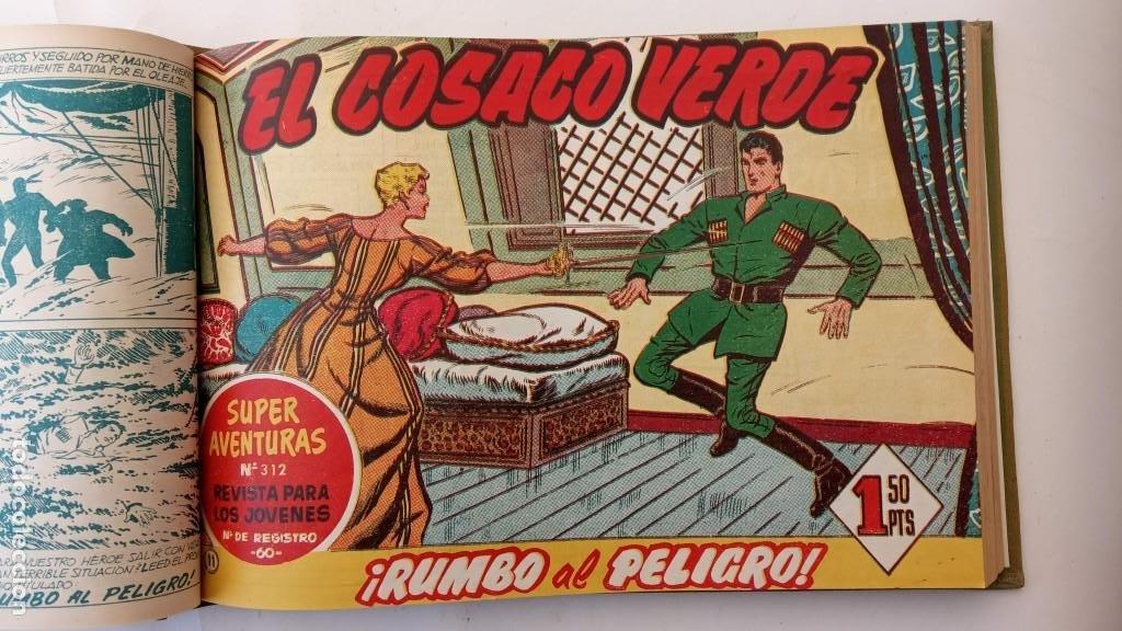Tebeos: EL COSACO VERDE ORIGINAL 1 AL 70 - 1960 BRUGUERA, VER TODAS LAS PORTADAS - Foto 19 - 225888498