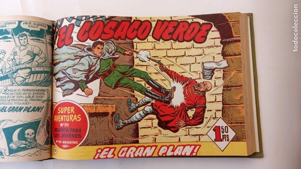 Tebeos: EL COSACO VERDE ORIGINAL 1 AL 70 - 1960 BRUGUERA, VER TODAS LAS PORTADAS - Foto 21 - 225888498