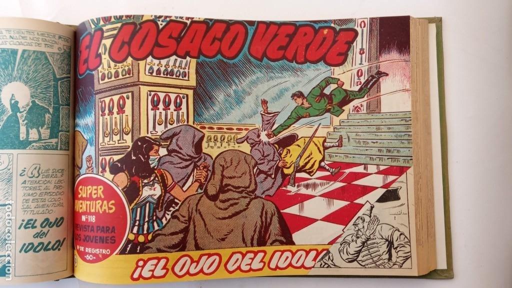 Tebeos: EL COSACO VERDE ORIGINAL 1 AL 70 - 1960 BRUGUERA, VER TODAS LAS PORTADAS - Foto 25 - 225888498