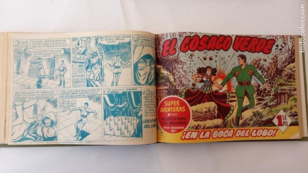 Tebeos: EL COSACO VERDE ORIGINAL 1 AL 70 - 1960 BRUGUERA, VER TODAS LAS PORTADAS - Foto 27 - 225888498