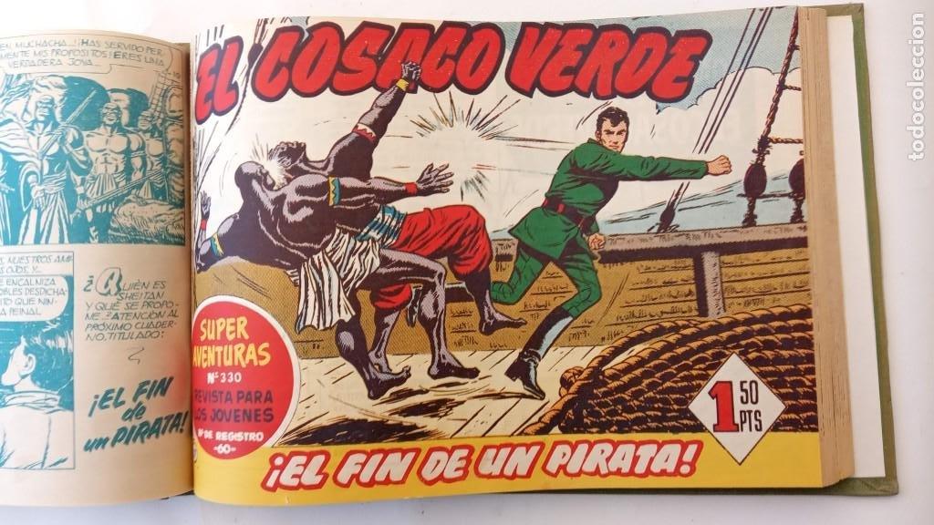Tebeos: EL COSACO VERDE ORIGINAL 1 AL 70 - 1960 BRUGUERA, VER TODAS LAS PORTADAS - Foto 34 - 225888498