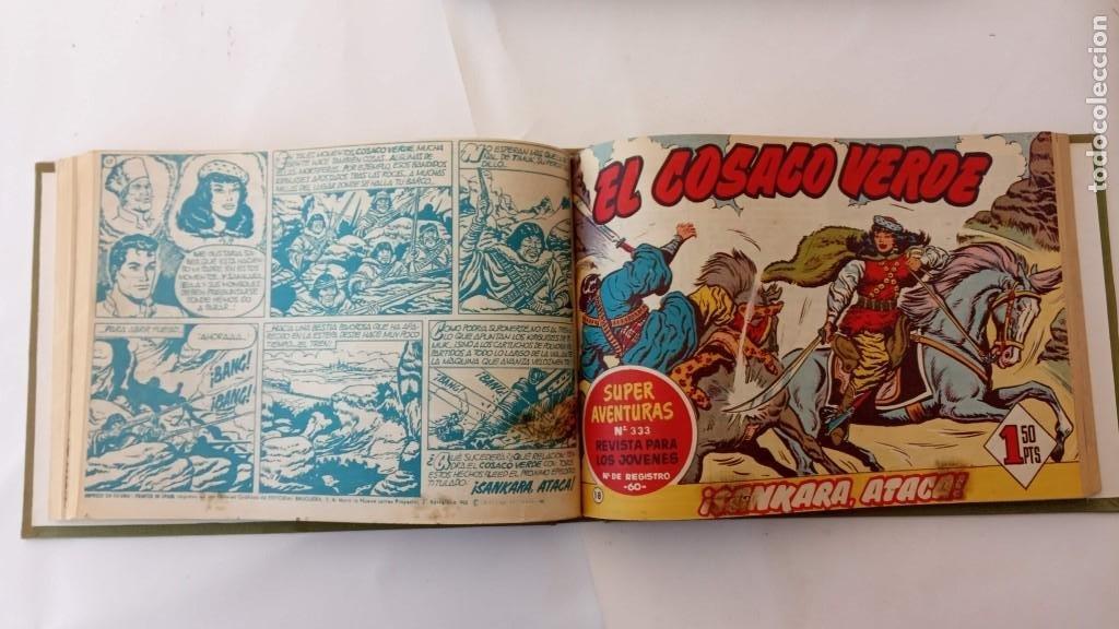 Tebeos: EL COSACO VERDE ORIGINAL 1 AL 70 - 1960 BRUGUERA, VER TODAS LAS PORTADAS - Foto 35 - 225888498