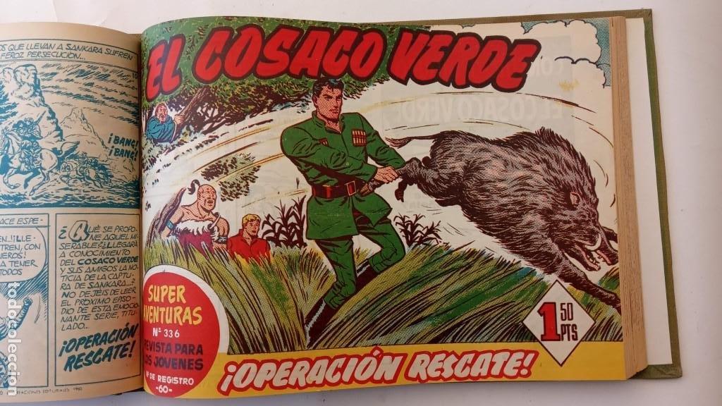 Tebeos: EL COSACO VERDE ORIGINAL 1 AL 70 - 1960 BRUGUERA, VER TODAS LAS PORTADAS - Foto 37 - 225888498