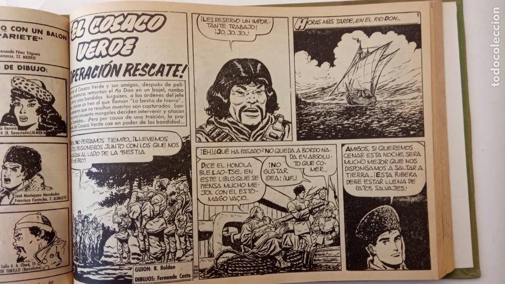 Tebeos: EL COSACO VERDE ORIGINAL 1 AL 70 - 1960 BRUGUERA, VER TODAS LAS PORTADAS - Foto 38 - 225888498