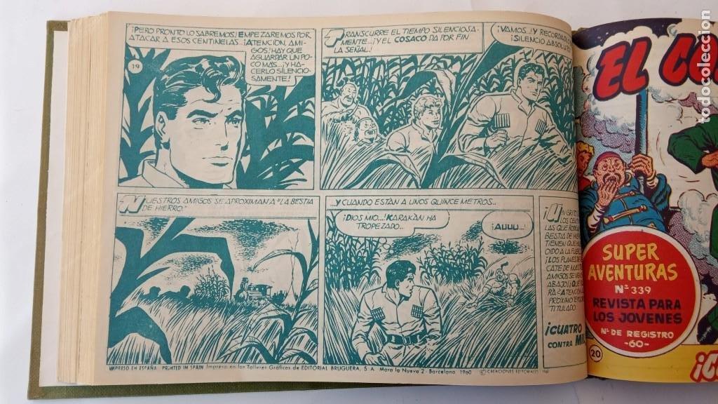 Tebeos: EL COSACO VERDE ORIGINAL 1 AL 70 - 1960 BRUGUERA, VER TODAS LAS PORTADAS - Foto 39 - 225888498
