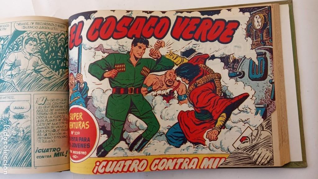 Tebeos: EL COSACO VERDE ORIGINAL 1 AL 70 - 1960 BRUGUERA, VER TODAS LAS PORTADAS - Foto 40 - 225888498