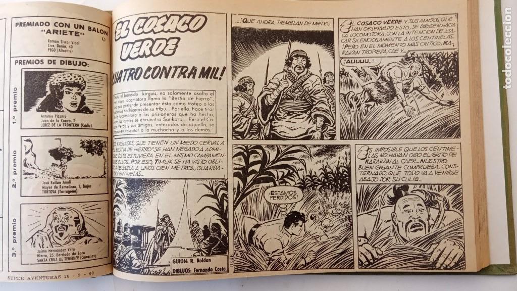 Tebeos: EL COSACO VERDE ORIGINAL 1 AL 70 - 1960 BRUGUERA, VER TODAS LAS PORTADAS - Foto 41 - 225888498