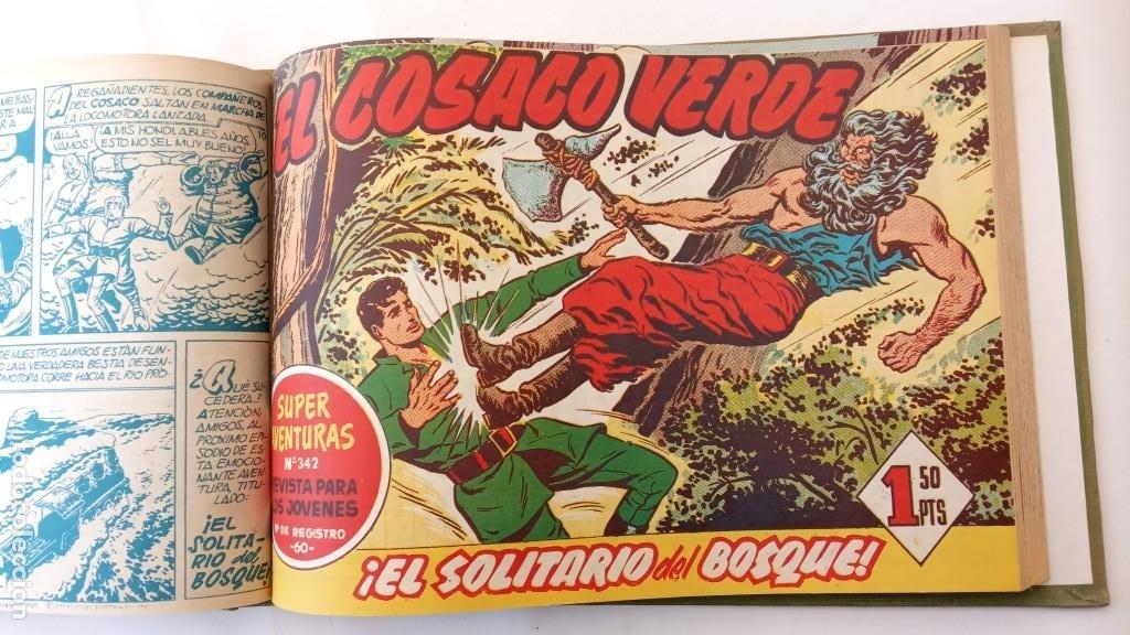Tebeos: EL COSACO VERDE ORIGINAL 1 AL 70 - 1960 BRUGUERA, VER TODAS LAS PORTADAS - Foto 43 - 225888498