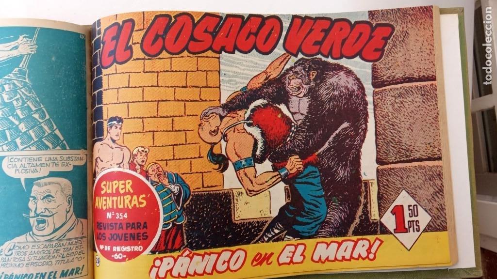 Tebeos: EL COSACO VERDE ORIGINAL 1 AL 70 - 1960 BRUGUERA, VER TODAS LAS PORTADAS - Foto 52 - 225888498