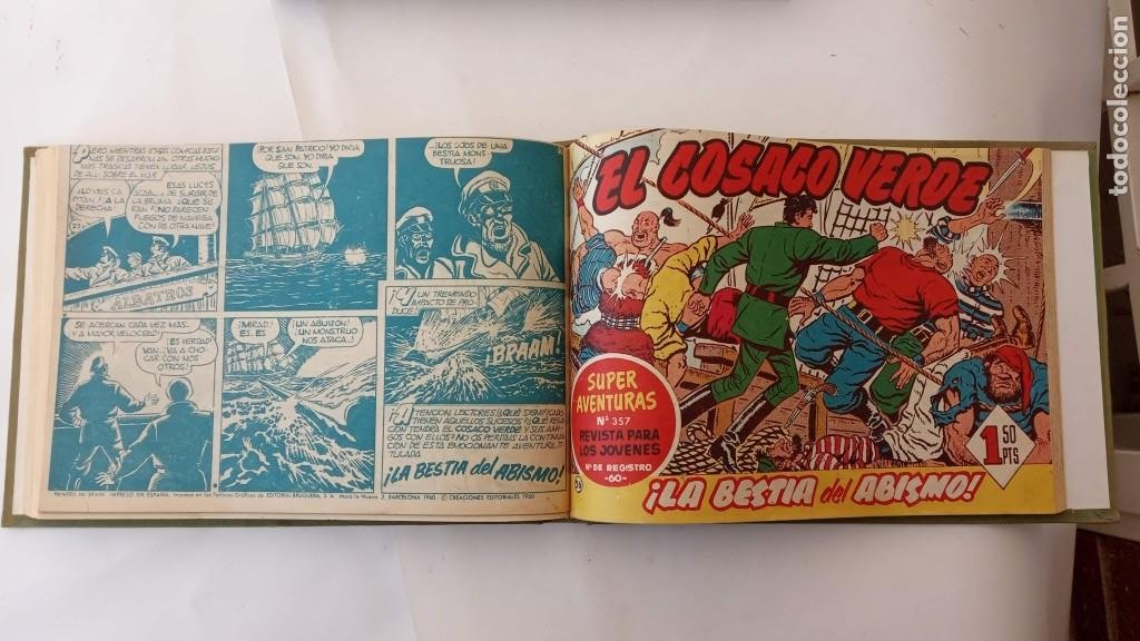 Tebeos: EL COSACO VERDE ORIGINAL 1 AL 70 - 1960 BRUGUERA, VER TODAS LAS PORTADAS - Foto 53 - 225888498