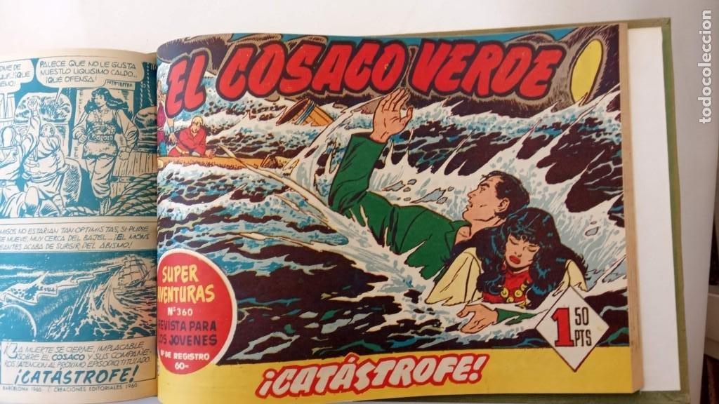 Tebeos: EL COSACO VERDE ORIGINAL 1 AL 70 - 1960 BRUGUERA, VER TODAS LAS PORTADAS - Foto 56 - 225888498