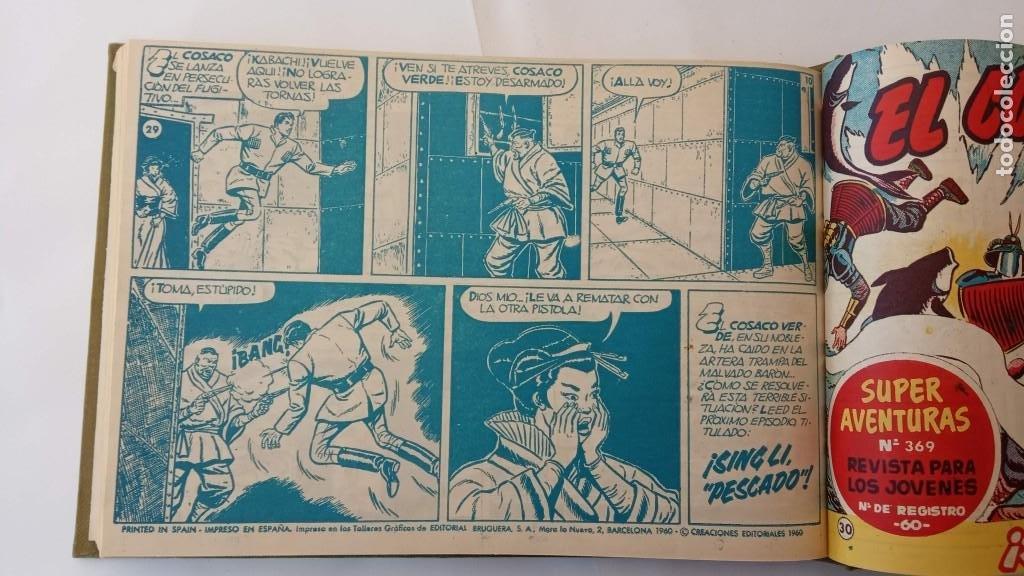 Tebeos: EL COSACO VERDE ORIGINAL 1 AL 70 - 1960 BRUGUERA, VER TODAS LAS PORTADAS - Foto 62 - 225888498