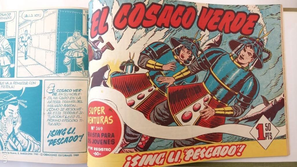 Tebeos: EL COSACO VERDE ORIGINAL 1 AL 70 - 1960 BRUGUERA, VER TODAS LAS PORTADAS - Foto 63 - 225888498