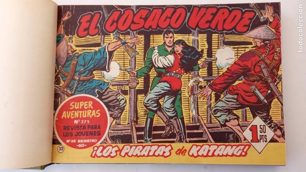 Tebeos: EL COSACO VERDE ORIGINAL 1 AL 70 - 1960 BRUGUERA, VER TODAS LAS PORTADAS - Foto 67 - 225888498
