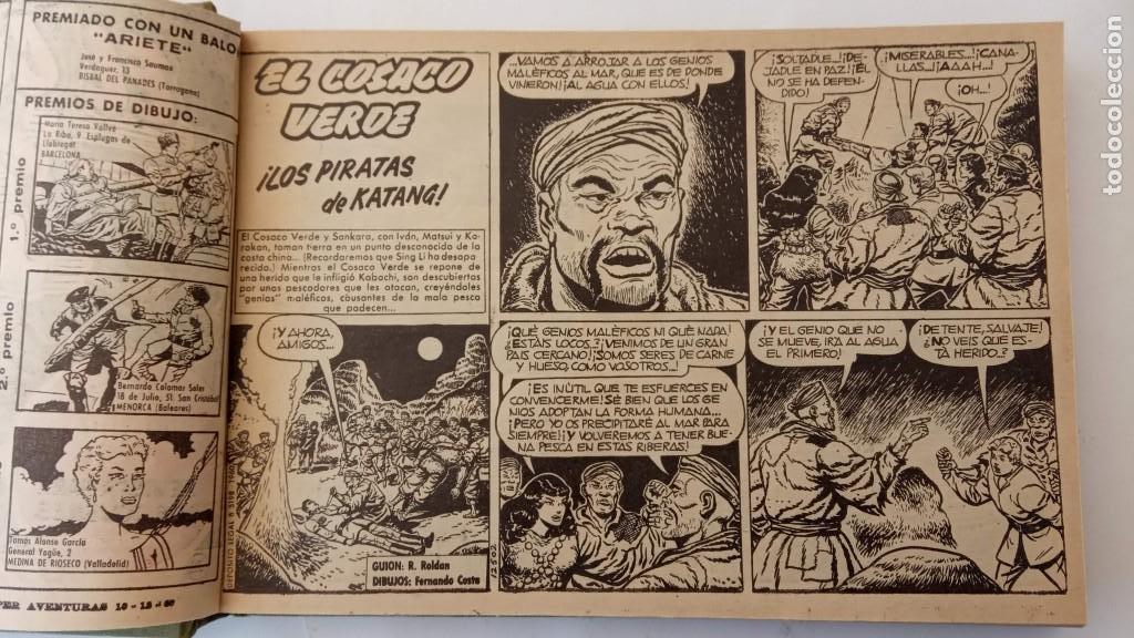 Tebeos: EL COSACO VERDE ORIGINAL 1 AL 70 - 1960 BRUGUERA, VER TODAS LAS PORTADAS - Foto 68 - 225888498