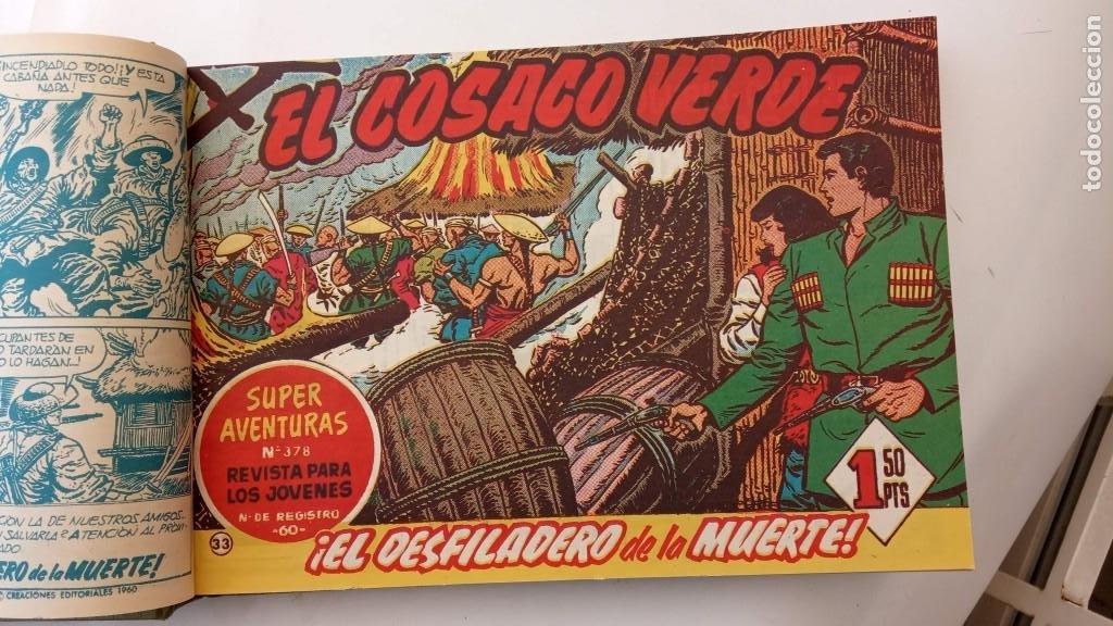 Tebeos: EL COSACO VERDE ORIGINAL 1 AL 70 - 1960 BRUGUERA, VER TODAS LAS PORTADAS - Foto 70 - 225888498