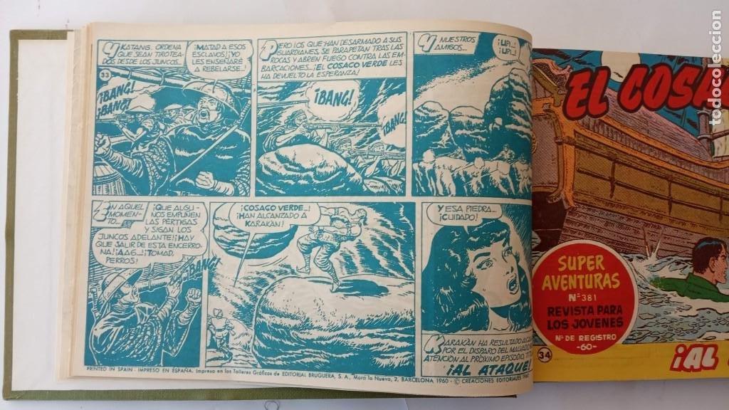 Tebeos: EL COSACO VERDE ORIGINAL 1 AL 70 - 1960 BRUGUERA, VER TODAS LAS PORTADAS - Foto 72 - 225888498