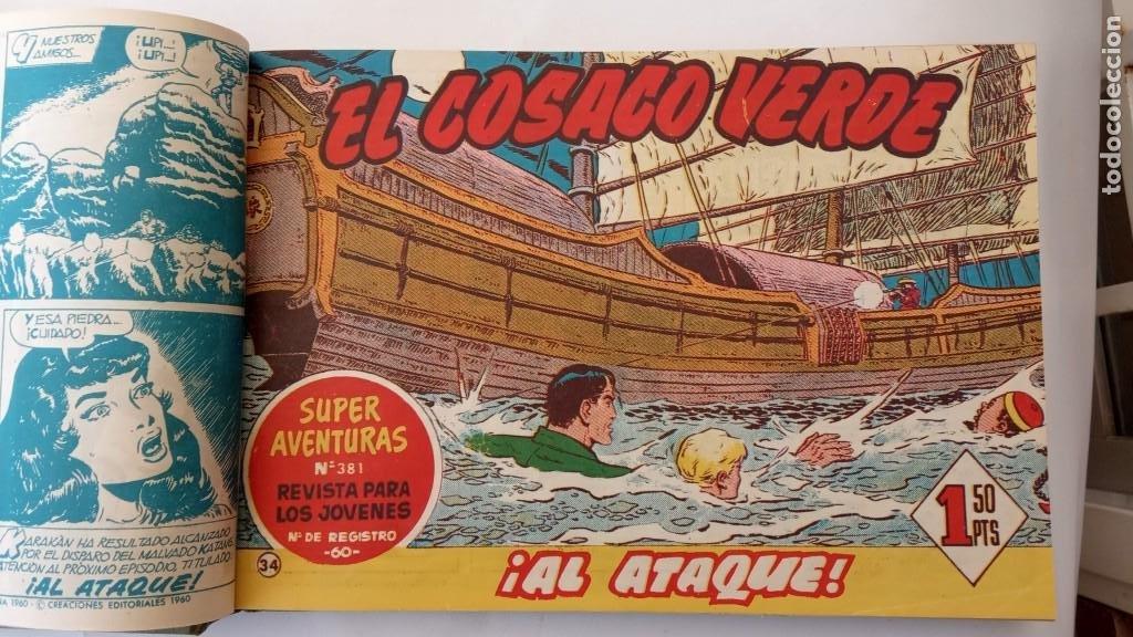 Tebeos: EL COSACO VERDE ORIGINAL 1 AL 70 - 1960 BRUGUERA, VER TODAS LAS PORTADAS - Foto 73 - 225888498