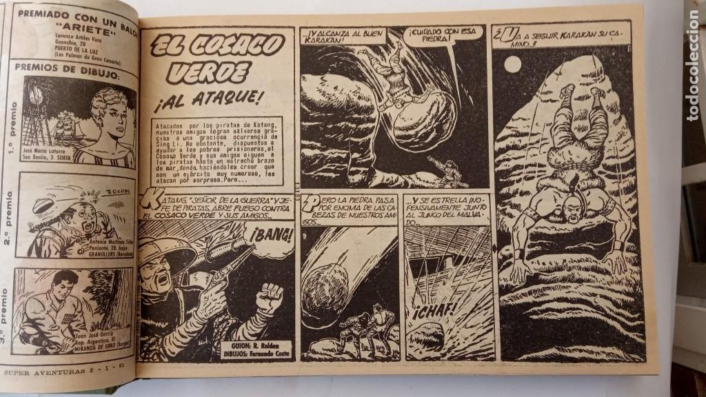 Tebeos: EL COSACO VERDE ORIGINAL 1 AL 70 - 1960 BRUGUERA, VER TODAS LAS PORTADAS - Foto 74 - 225888498