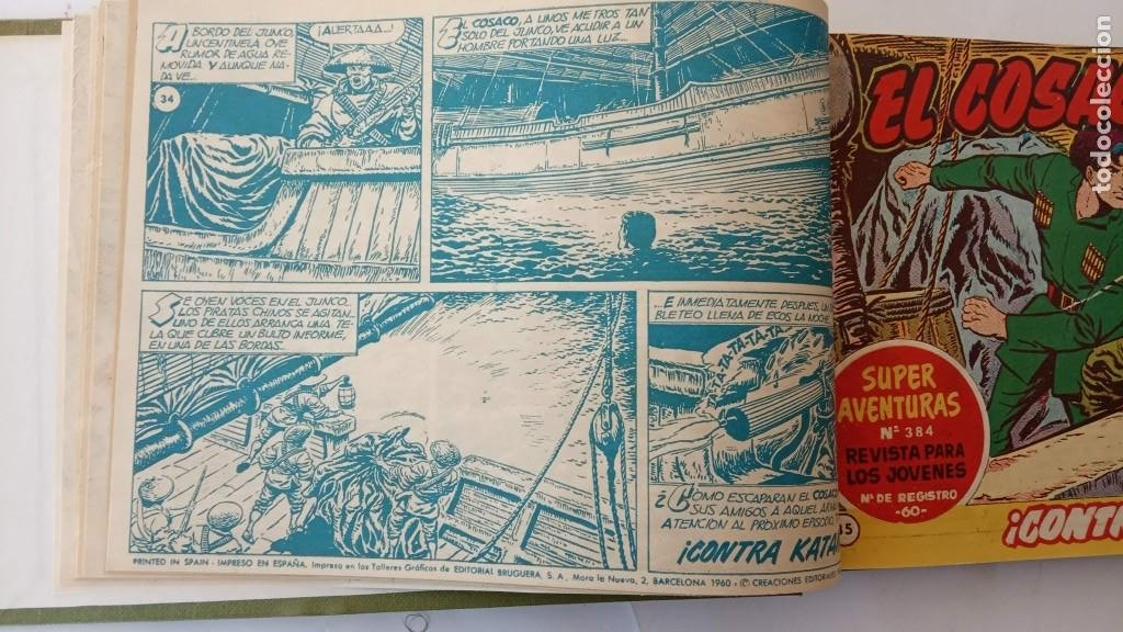 Tebeos: EL COSACO VERDE ORIGINAL 1 AL 70 - 1960 BRUGUERA, VER TODAS LAS PORTADAS - Foto 75 - 225888498