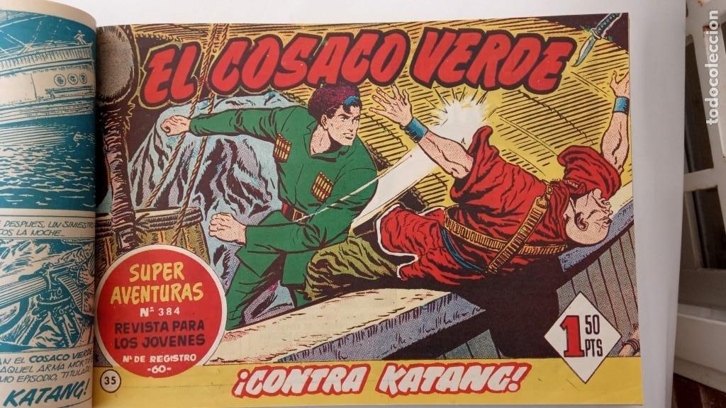 Tebeos: EL COSACO VERDE ORIGINAL 1 AL 70 - 1960 BRUGUERA, VER TODAS LAS PORTADAS - Foto 76 - 225888498