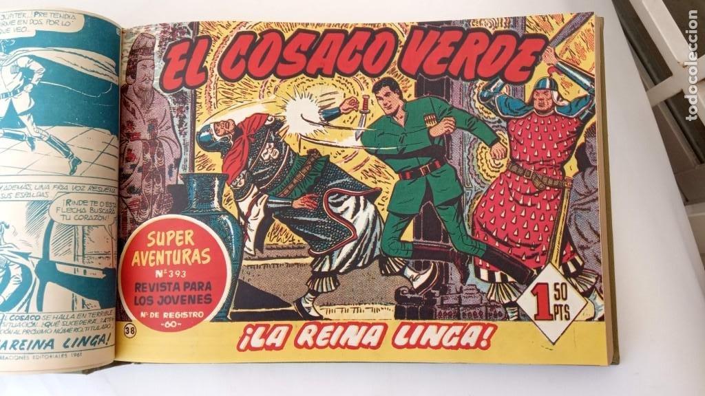 Tebeos: EL COSACO VERDE ORIGINAL 1 AL 70 - 1960 BRUGUERA, VER TODAS LAS PORTADAS - Foto 85 - 225888498
