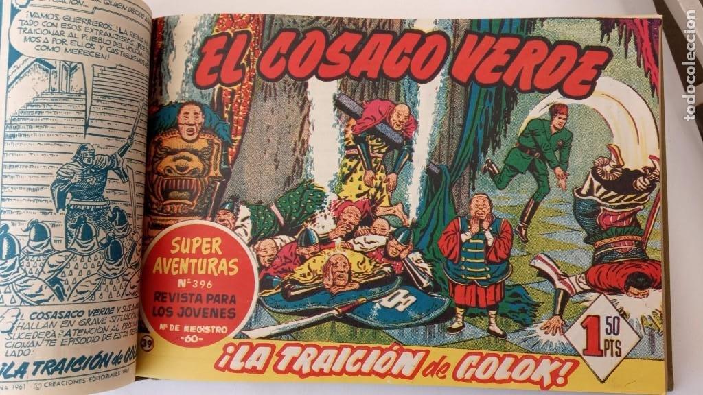 Tebeos: EL COSACO VERDE ORIGINAL 1 AL 70 - 1960 BRUGUERA, VER TODAS LAS PORTADAS - Foto 87 - 225888498