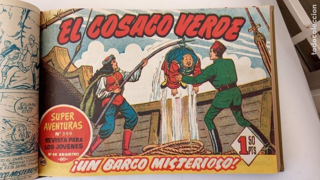 Tebeos: EL COSACO VERDE ORIGINAL 1 AL 70 - 1960 BRUGUERA, VER TODAS LAS PORTADAS - Foto 89 - 225888498