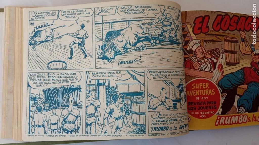Tebeos: EL COSACO VERDE ORIGINAL 1 AL 70 - 1960 BRUGUERA, VER TODAS LAS PORTADAS - Foto 90 - 225888498