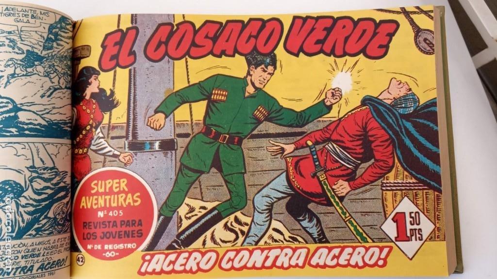 Tebeos: EL COSACO VERDE ORIGINAL 1 AL 70 - 1960 BRUGUERA, VER TODAS LAS PORTADAS - Foto 93 - 225888498