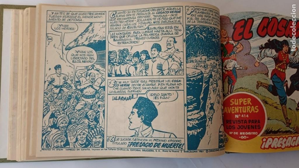 Tebeos: EL COSACO VERDE ORIGINAL 1 AL 70 - 1960 BRUGUERA, VER TODAS LAS PORTADAS - Foto 102 - 225888498
