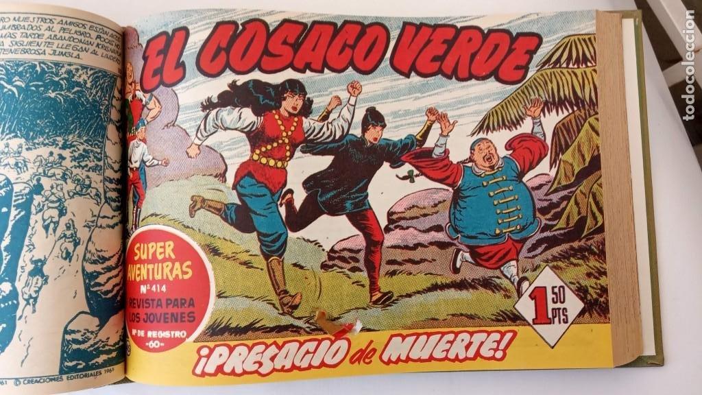 Tebeos: EL COSACO VERDE ORIGINAL 1 AL 70 - 1960 BRUGUERA, VER TODAS LAS PORTADAS - Foto 103 - 225888498