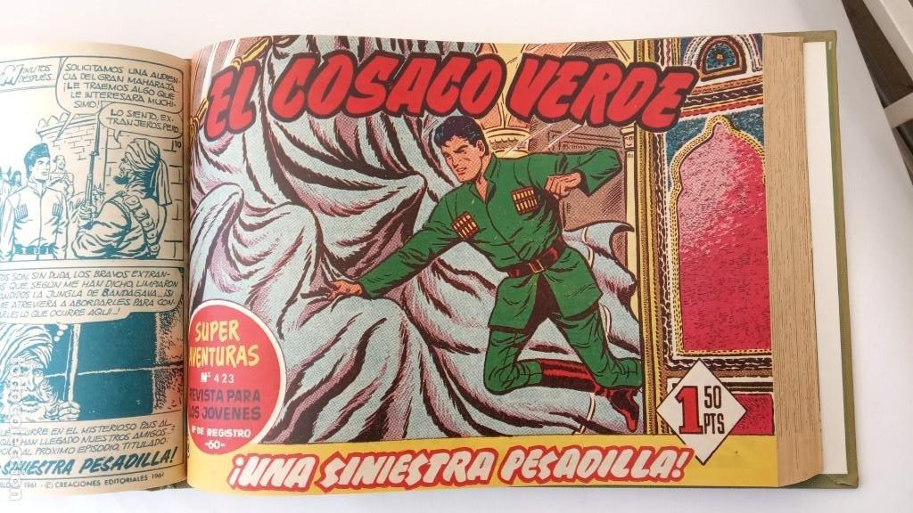 Tebeos: EL COSACO VERDE ORIGINAL 1 AL 70 - 1960 BRUGUERA, VER TODAS LAS PORTADAS - Foto 110 - 225888498